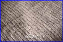 100% Wool Blanket Striped Queen Size Throw Plaid Warm Cozy Sofa Bedding Cover