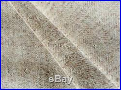 Cashmere Plaid Bedspread Wool Blanket with Proportion 135x180 CM