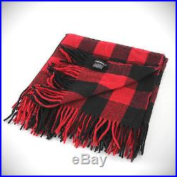 DSQUARED2 DSQUARED Grunge Scottish Plaid Cashmere Wool Blanket Poncho Scarf Wrap