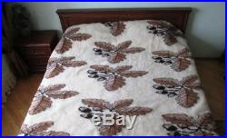 Eco natural blanket made of sheep wool 100% (150-210 cm), soft and warm plaid