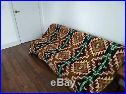 Extra Large Soft And Warm Premium Quality Alpaca Wool Blanket Plaid 75x90