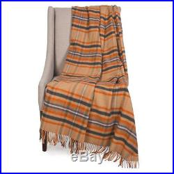 Johnstons of Elgin Limited Edition Throw Blanket Merino Wool Cashmere Plaid