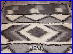 LARGE Hutsul Real Pure SHEEP WOOL hand made Blanket Plaid Rug 190210 cm