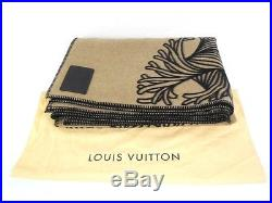 LOUIS VUITTON WOOL Accessory PLAID CIRCLE ROPE Blanket Y1801491