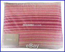 Missoni Home Paolo 125 Fringed Throw Blanket Wool Blend Branded Packaging