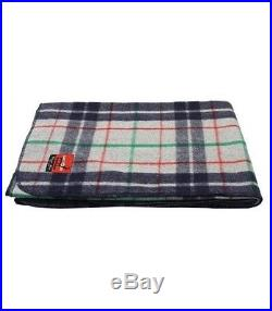 NEW CLASSIC WOOL PLAID 5-PACK BUNDLE! Blankets Rug Throws Classic Patterns