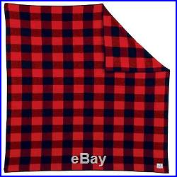 Old Hickory Buffalo Plaid Wool Blanket Throw by Pendleton