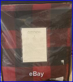 PENDLETON Rob Roy Tartan Washable Wool Banket Eco-Wise Made- New Made In the USA