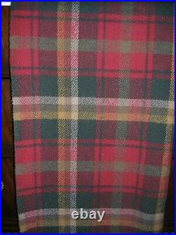 Pendleton 100% Wool Blanket 72x 55 With 4 Fringe On Each End New With Tags