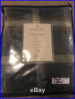 Pendleton Eco-Wise Wool Twin Washable Blanket in Multi color 66 X 96 New