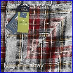 Pendleton Eco-wise Grey Stewart Wool Queen Blanket with Tags ZA174-53291