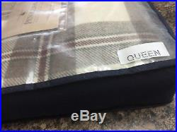 Pendleton Washable ecowise WOOL Queen Blanket Plaid Tartan $420 SOLD OUT
