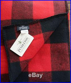 Pendleton Wool Blanket Queen or King NWT Washable Stadium Picnic Made in the USA