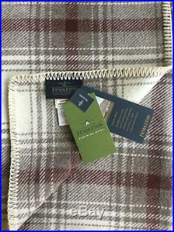 Pendleton Wool Blanket Twin NWT Washable Ivory Waverly Picnic Made in USA