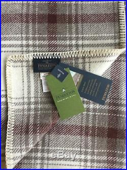 Pendleton Wool Blanket Twin NWT Washable Ivory Waverly Plaid Made in USA