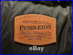 Pendleton Wool Face With Nylon Back Roll-Up Blanket Coca-Cola-Coke- New