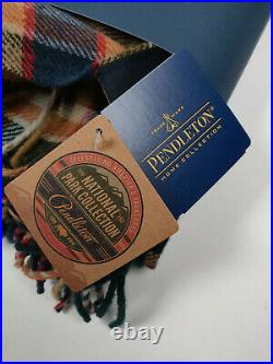 Pendleton Wool Throw National Parks 2016 Badlands Plaid Discontinued
