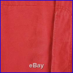 VTG POLO RALPH LAUREN Large Red Mens Canvas Hunting Field Jacket Coat Game Pouch