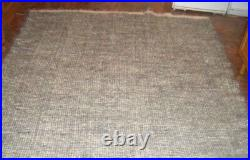 Variegated blanket from the Carpathians Cover Carpet Rug Plaid Throw 100% wool