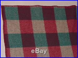 WOOLRICH WOOL PLAID BLANKET/THROW! 54x70! MADE IN USA! WARM! CLASSIC STYLE