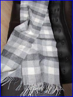 Wool Blanket Wool Plaid Bedspread Coupling Couch Cover Sofa Blanket 150x205cm