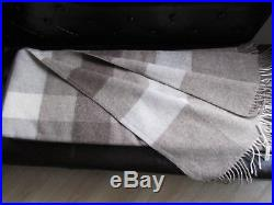 Wool Plaid Wool Blanket Bedspread Couch Cover Sofa Blanket Throw Cover 145x200cm