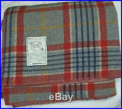 Woolrich Wool and Polyester Sherpa Throw Blanket